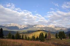 Bucegi landscape Stock Photo