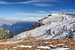Bucegi Mountains in Romania Stock Photo