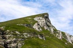 Bucegi mountain peak Royalty Free Stock Photo