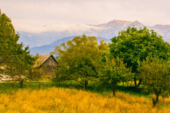Bucegi-Mountain View Stockfotos