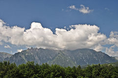 Bucegi Mountains 2. A beautiful view to Bucegi Mountains,Romania stock photos