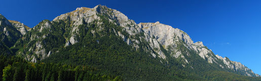Bucegi mountains, Carpathian ridge, Busteni Royalty Free Stock Image