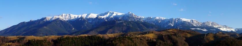 Bucegi mountains panorama Royalty Free Stock Photo