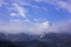 Bucegi mountains peak Stock Photos