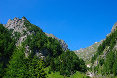 Bucegi Mountains, Romania Stock Image