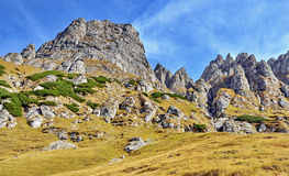 Bucegi Mountains in Romania Royalty Free Stock Image
