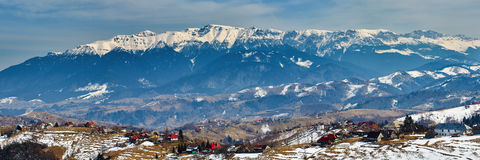 Bucegi mountains in Romania Stock Photo