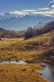 Bucegi mountains, Romania Royalty Free Stock Images