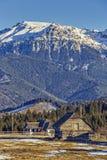 Bucegi mountains scenery, Romania Royalty Free Stock Photos