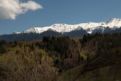 Bucegi mountains Stock Photo