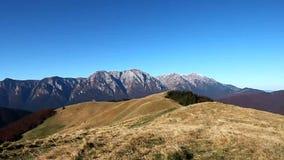 Bucegi mountains stock video footage