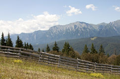Bucegi mountains - RAW format Royalty Free Stock Photography