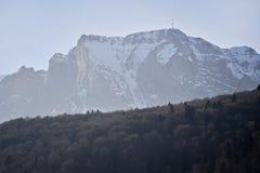 Bucegi mountains in winter Stock Photos