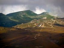 Bucegi platå i Rumänien royaltyfri fotografi