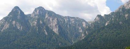 Bucegi Widok górski Zdjęcie Stock