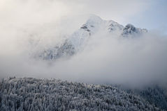 Bucegi in winter Stock Photo