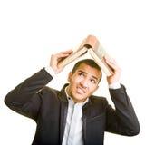 Buch als Abdeckung Lizenzfreies Stockfoto