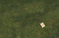 Buch auf dem Gras Stockfotografie