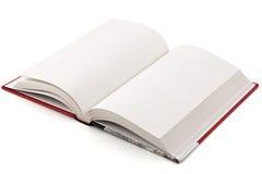 Buch auf Weiß Stockfotografie