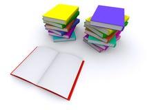 Buch 3d lizenzfreies stockfoto
