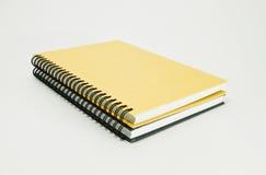 Buch der Anmerkung zwei lizenzfreie stockfotografie