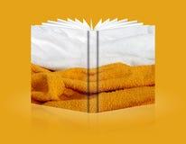 Buch des Hintergrundschwammes Lizenzfreies Stockfoto
