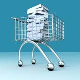 Buch-Einkaufen Stockfotos