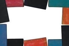 Buch-Feld mit Pfad Lizenzfreies Stockfoto