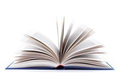 Buch geöffnet Stockfotos