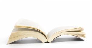 Buch geöffnet Lizenzfreies Stockfoto