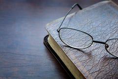 Buch, Lesung, die heilige Bibel Stockbild