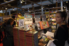 BUCH-MESSE O 2014 BOGFORUM 2014 Stockbilder