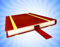 Buch mit Bookmark Lizenzfreies Stockfoto