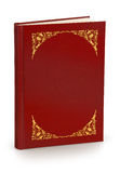 Buch mit harter Abdeckung - Ausschnittspfad Stockfotos
