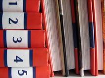 Buch-Stapel Stockbild