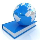 Buch und Erde Stockbilder