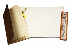 Buch und Papier Lizenzfreie Stockbilder