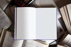 Buch unter Büchern stockbilder