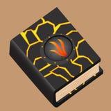 Buch von Feuer-Magie Stockbilder