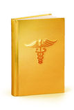 Buch von Medizin - Beschneidungspfad Stockfotografie