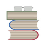 Buch-Wurm Stockbild