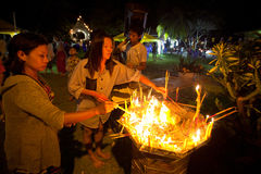 bucha ceremonii makha Thailand Fotografia Royalty Free