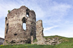 Buchach castle XIV-XVI century Stock Images