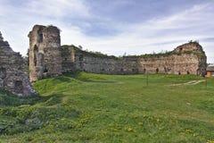 Buchach castle XIV-XVI century Royalty Free Stock Photos