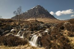 Buchaille Etive Mor Stock Photography