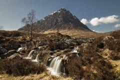 Buchaille Etive Mor. Buchailie Etive Mor, an Iconic Mountain in Glencoe, Scotland Stock Photography
