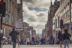 Buchanan street, Glasgow, Scotland Stock Photo