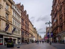 Buchanan street in Glasgow Royalty Free Stock Photo
