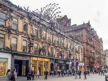Buchanan street in Glasgow Stock Image