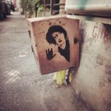 #bucharest день Румыния прогулки искусства улицы Стоковые Фотографии RF